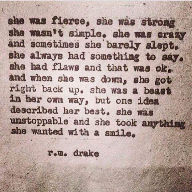 LOVE this! For my fierce friends... You know who you are. <3
