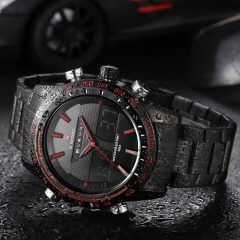 High quality premium band, quartz movement, Buy-it-now and have delivered to your door with Free Shipping.  Sale price is valid for a limited time only. From 159 USD to 49 USD !!! Only on menswatchbox.com