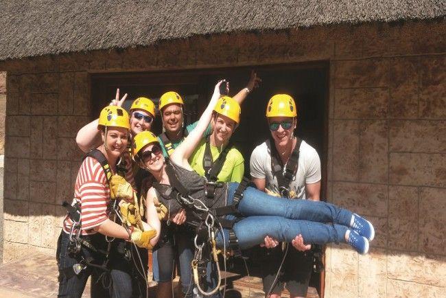 Zip line adventures in Ballito, South Africa Clubventure. #dirtyboots #zipline #ballito