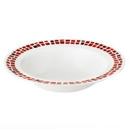 Boutique™ Precious Colors 28-oz Wide Rimmed Bowl, Ruby Red
