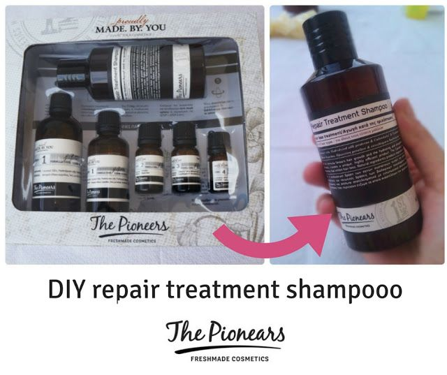DIY repair treatment shampoo The Pionears [ review ] http://ift.tt/2upgZDA  #edityourlifemag