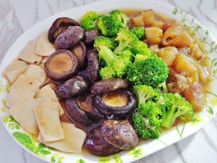 Braised Sea Cucumber and Mushrooms Recipe