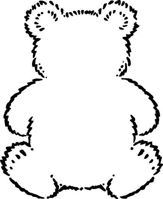 Teddy Bear Ears Headband Template