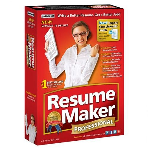 looking for the best resume writing software on the internet the highly rated and awarded resumemaker professional 18 download is on sale now