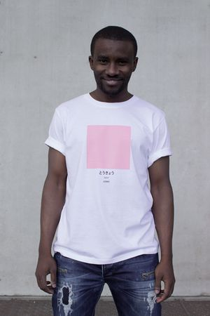 Tokyo - The Ci-Tee collection is based on a google search of each individual city, and each colour code is based on the most frequent colour that comes up on google when googling. It's a fun way of showcasing cities around the world through a colour instead of a flag. See more Ci-Tee shirts at amesstore.se