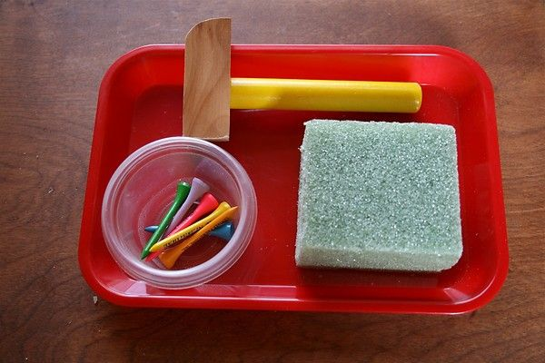 hammering activity for toddlers