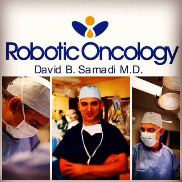 Dr. Dr David B Samadi Chairman of Urology,  Chief of Robotic Surgery at Lenox Hill Hospital  Professor of Urology at Hofstra North Shore-LIJ  School of Medicine  www.roboticoncology.com