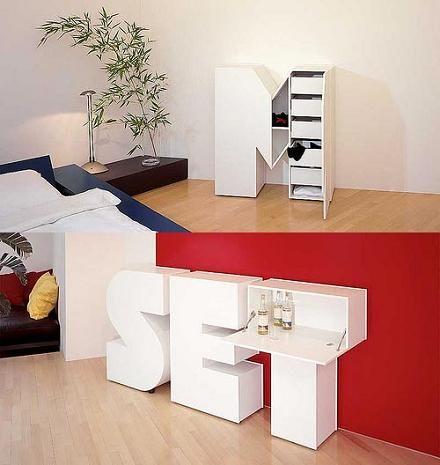 Alphabet furniture | I New Idea Homepage