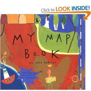 My Map Book by Sara Fanelli - A great book to use with primary kids when doing a mapping unit.