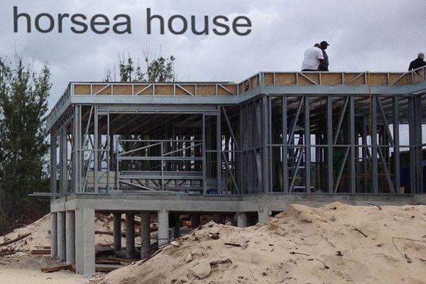 Eclecticism Steel Construction villa hosue