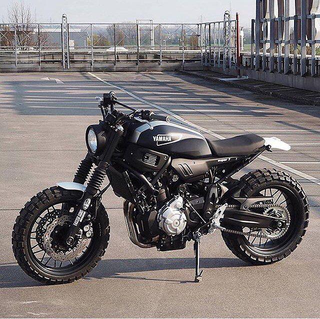 Custom MT-07 Tag a Owner: ? #Motorcycledreams #Yamaha #Mt07 #YamahaCustom…