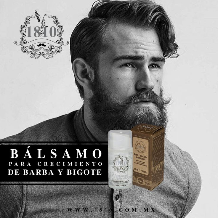 No entiendes porque no consigues novia ¿Ya probaste dejándote la barba? www.1810.com.mx