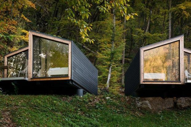 Back to nature for this #SmallSpaces entry: ekokoncept mini for-4 by Ekokoncept d.o.o. | #Bled #Slovenia © Janez Marolt, u.d.i.a.