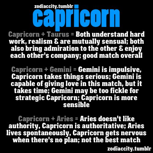 capricorns love match Our capricorn website has free horoscopes every single day, weekly, monthly and free romantic horoscopes for all signs plus a ton of capricorn information.