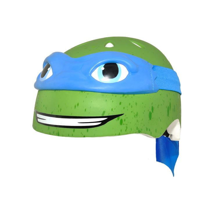 Youth C Preme Teenage Mutant Ninja Turtles Bike Helmet, Blue