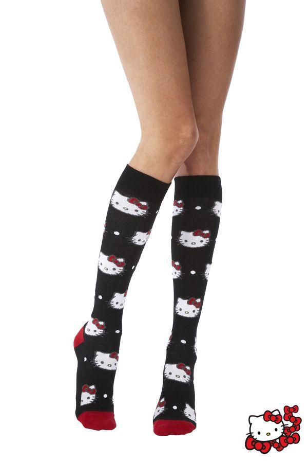 Hello Kitty - All Over Design Knee High