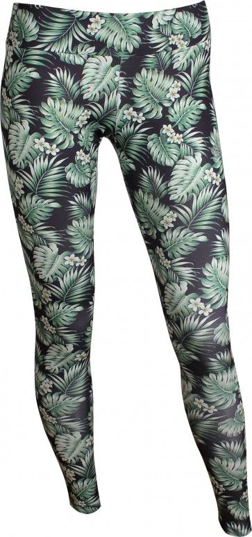 OGNX Yoga Leggings Hawaii Damen Grün Recyceltes Polyester