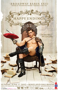 """Broadway Bares is doing Fairy Tales this year.  """"Happy Endings"""""""