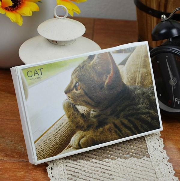 30pcs cute cat postcard / greeting card / cat card /  14.3cm*9.3cm free shipping on AliExpress.com. 35% off $6.83