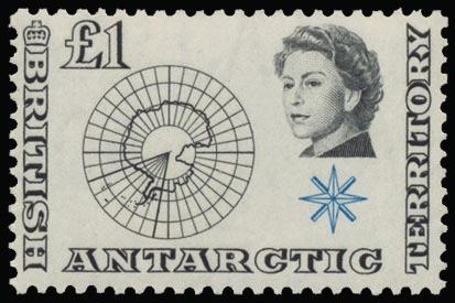 """British Territory in the Antarctic N° 1/15 """"1963 frankeerreeks"""", zm (Yv Euro 280)    Dealer  Van Looy Stamp Auctions    Auction  Minimum Bid:  42.00EUR"""
