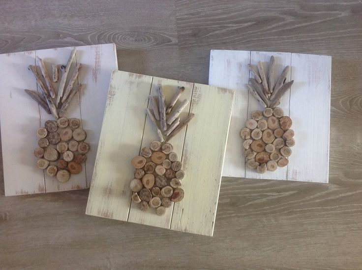Driftwood pineapples by sea debris designs available for purchase at seaside gallery and goods Home goods decor pinterest