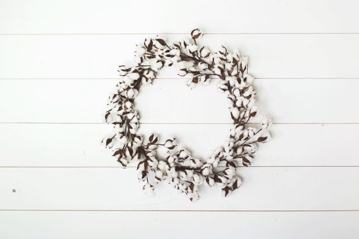 Cotton Wreath - Magnolia Market | Chip & Joanna Gaines