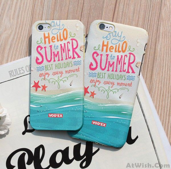 Wow~ Awesome Retro Hello Summer Iphone 6 S Plus Case Cover! It only $12.99 at…