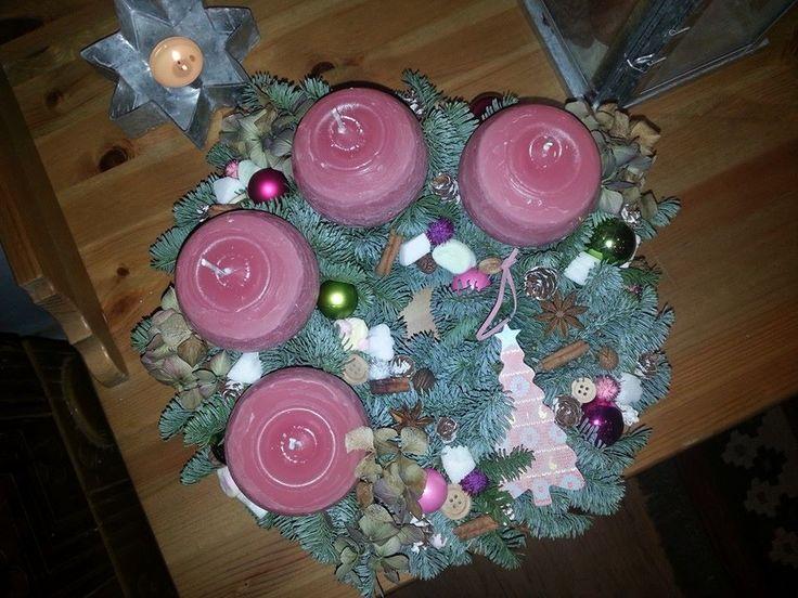 Advent rózsaszínben