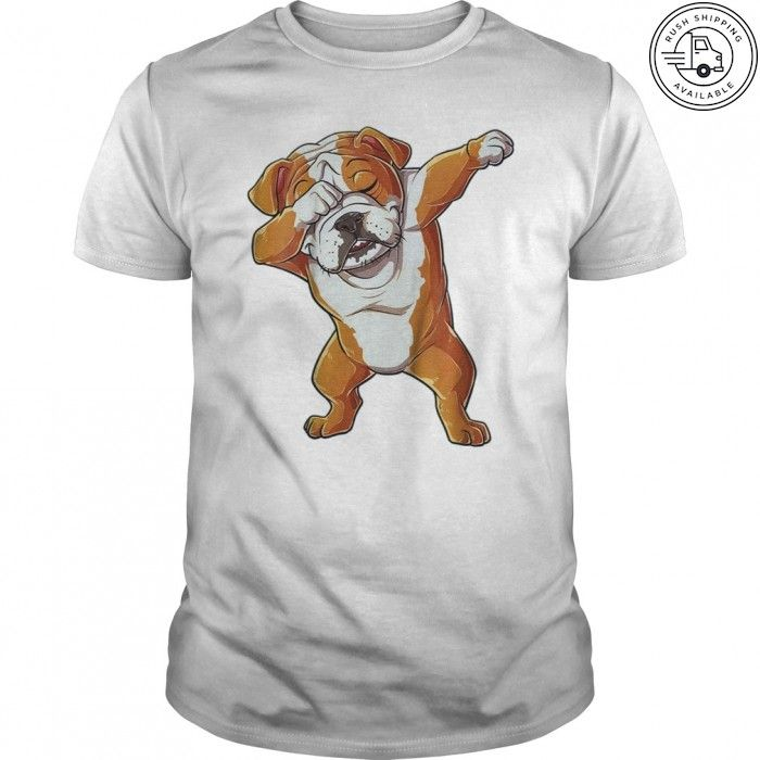 44a7e25a Dabbing English Bulldog Tshirt Gifts. Funny graphic tee for Dog, Pet, Puppy  Lovers, men, women, kids, boys, girls who love Dab Dance, dancing, dogs, ...