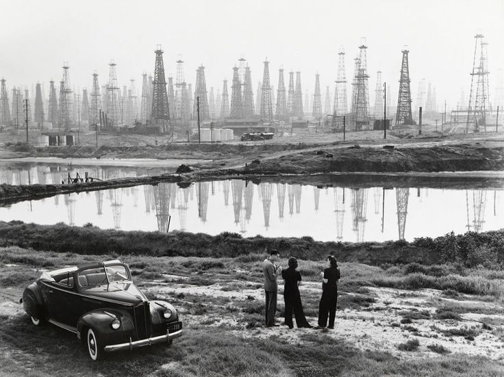 Oil Field Picture -- Signal Hill Wallpaper -- National Geographic Photo of the Day