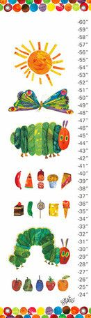 Eric Carles The Very Hungry Caterpillar (TM) Growth Charts