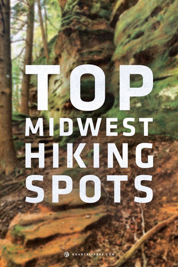 The best spots to hike in the Midwest! I've been to a few! Can't wait to explore some more!