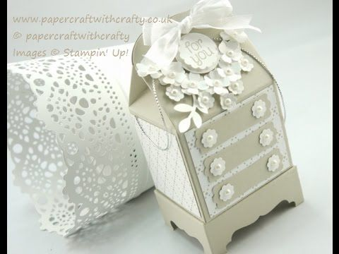 Baker's BoxThinlits Die - Amoire Gift Box - YouTube