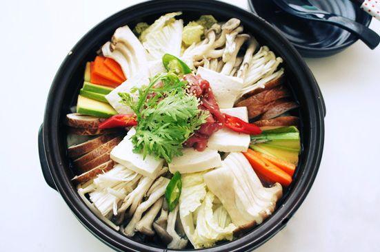 Le beoseot jeongol recette en fran ais k for Cuisine coreenne