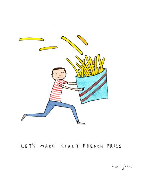 let-s make giant french fries