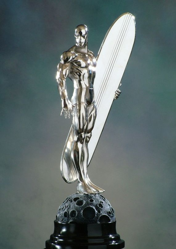Silver Surfer Chrome statue Sculpted by: Randy Bowen  Release Date: January 2005 Edition Size: 2500 Order Of Release: Phase II (statue #43)