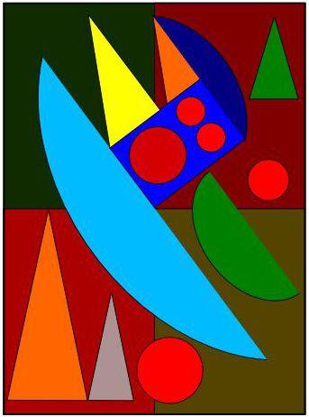 Coloriages 224 La Mani 232 Re D Auguste Herbin Niveau 3
