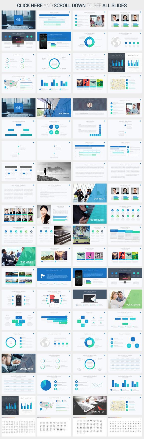 42 best best powerpoint templates images on pinterest keynote elite powerpoint template presentations 2 alramifo Image collections