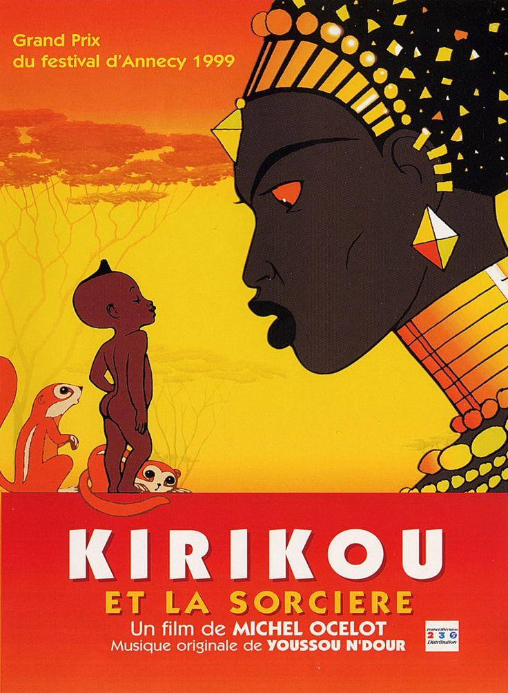 Affiches, posters et images de Kirikou et la Sorcière (1998)