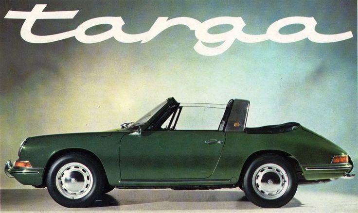 Porsche aus den sechziger Jahren sind ohnehin Sammlerstücke. So ein früher 911 Targa mit herausnehmbarer Heckscheibe ist eine Rarität.