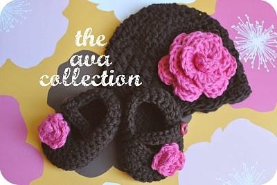 crochet hat/bootie/flower tutorial and pattern.