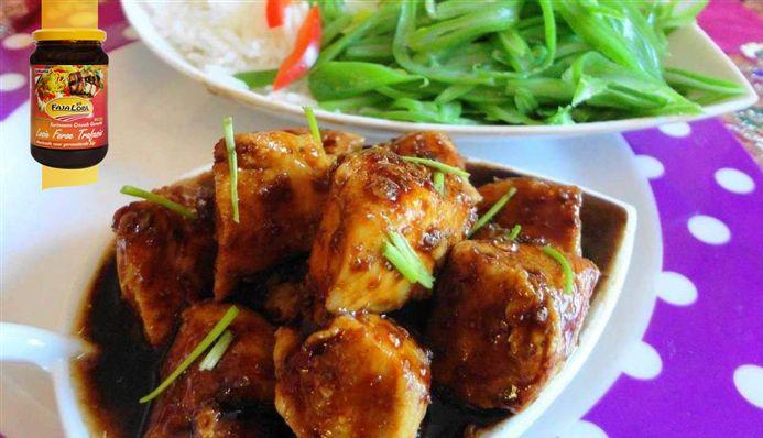 Surinaams eten – Ketjap Kipfilet uit de oven (kipfilet in blokjes met ketjap-honingsaus)