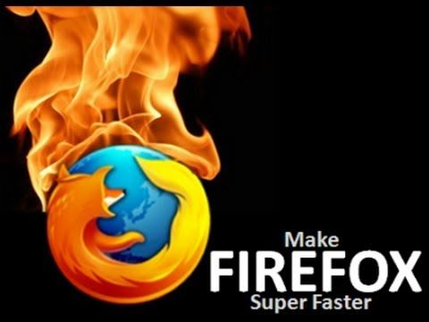How to make Mozilla Firefox Faster than ever 2014 - YouTube