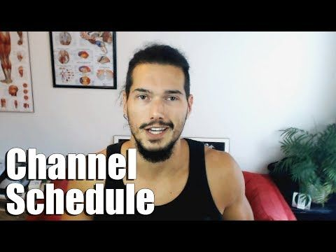 Introduction to Channel & Schedule Going Forward - YouTube
