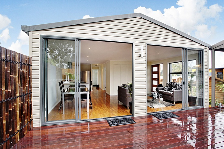 Granny Flats Melbourne from Matt's Homes and Outdoor Designs. Located Bayswater, Melbourne. Call 1300 62 88 77. One, two and three bedroom granny flat designs. Custom design available, DIY kit form save money or full installation available including permits, council approval and more. Modern designs, economical and easy to maintain - downsize in comfort and style.