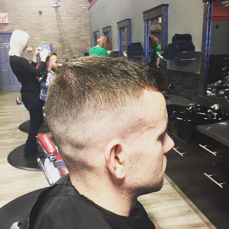 "2 Likes, 2 Comments - Maria E-B (@grizlybarber) on Instagram: ""High and tight for the weekend"""