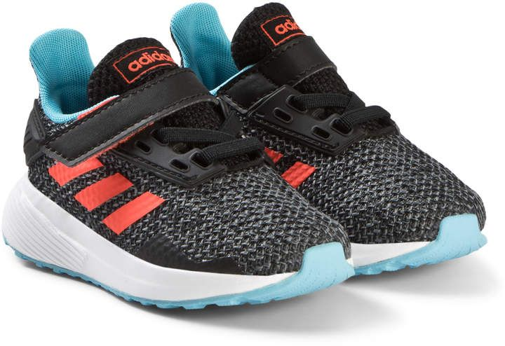 Adidas Performance Black, Blue & Red Duramo 9 Velcro Toddler