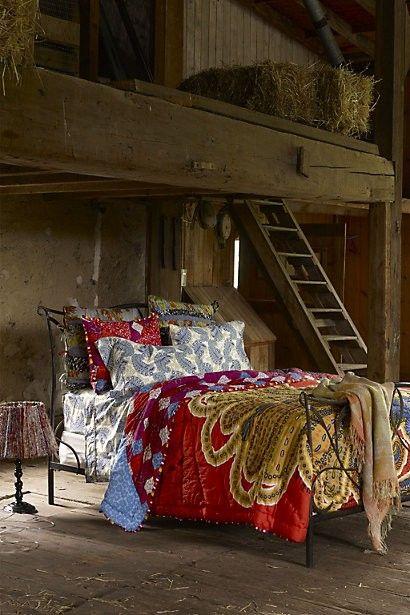 .Decor, Barns Living, Guest Room, Beds, The Loft, Dreams, Loft Bedrooms, Barns Loft, Boho