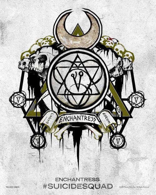 'Suicide Squad' Enchantress Poster