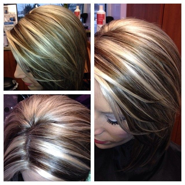 bold highlights & lowlights..this is what I\'ve been going for ...